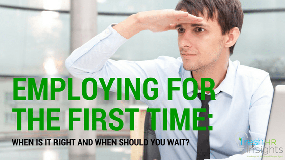 First time employment for employers
