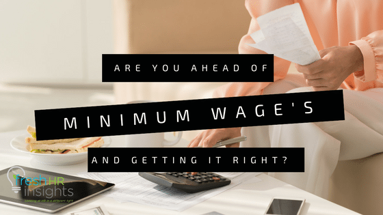 Minimum Wages in Australian workplaces