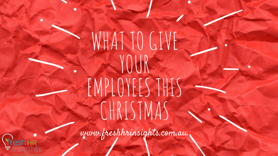 Employees this Christmas - Christmas Presents for your employee's