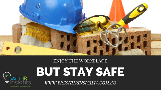 Under so much pressure it is easy to let safety matters slide