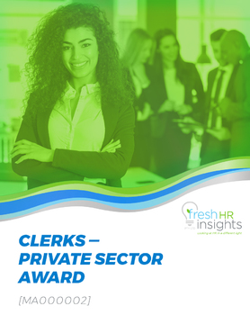 MA000002: Clerks – Private Sector Award 2020